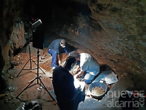 Encuentran evidencias de ocupación durante el neolítico en la Cueva de los Casares