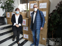 La Subdelegación del Gobierno distribuye 62.000 mascarillas para ayuntamientos y entidades sociales