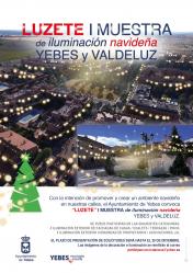 Yebes convoca 'Luzete' I Muestra de Iluminación Navideña de ventanas, balcones y fachadas