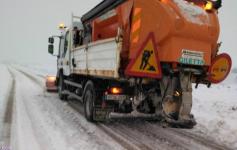 El Plan Infocam suma ocho camiones con palas quitanieves para atender las emergencias meteorológicas de estos días