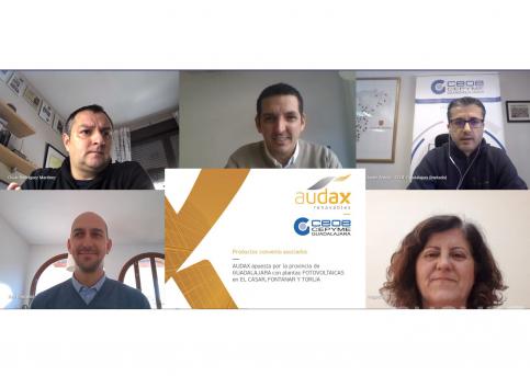 CEOE y Audax Renovables firman un convenio de colaboración