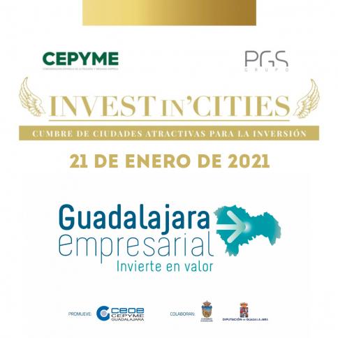 Guadalajara capital y provincia, en la cumbre de 'Invest in Cities' como destinos más atractivos para la inversión