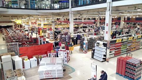 El supermercado Eroski  es historia desde el martes