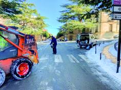 Cuatro incidencias por nieve o hielo en Guadalajara durante la pasada madrugada