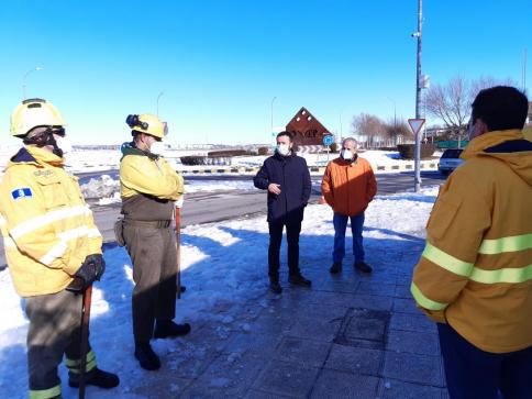 El Infocam ha realizado 400 actuaciones en la provincia desde el inicio de las nevadas
