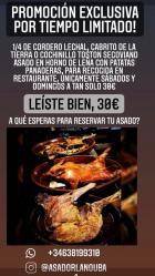 ¡¡Promoción exclusiva!!  Restaurante La Nouba