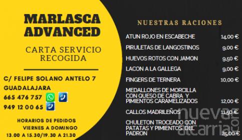 Marlasca Advanced, servicio de recogida