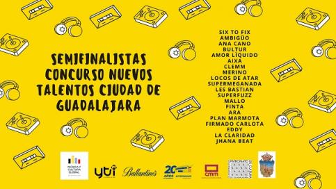 """La asociación cultural Música y Cultura Global ya tiene a los semifinalistas del I Concurso Nacional Nuevos Talentos """"Ciudad de Guadalajara"""""""