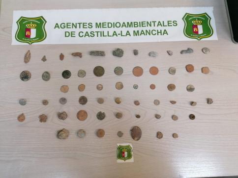 Denunciado un hombre que realizaba prospecciones arqueológicas en Alcolea del Pinar