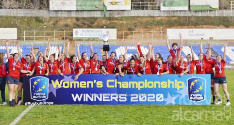 España vence a Países Bajos y se proclama Campeona de Europa de rugby