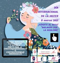 Sigüenza baila desde casa para celebrar el Día Internacional de la Mujer
