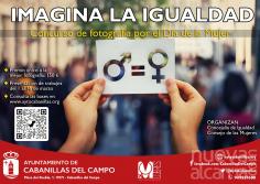 Cabanillas convoca el concurso de fotografía Imagina la Igualdad