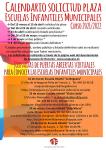 Entre el 15 de marzo al 15 de abril se podrá solicitar plaza en las escuelas infantiles municipales de Azuqueca