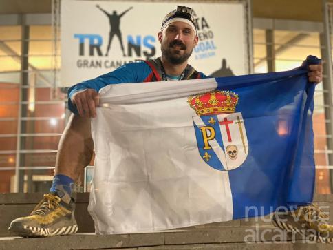 El pastranero Javier Izquierdo, entre los mejores de la Transgrancanaria tras recorrer 129 kilómetros