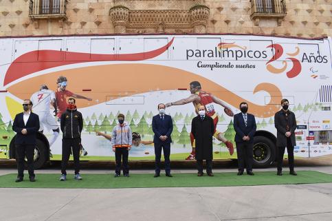 Alberto Rojo felicita al Comité Paralímpico Español en su 25 aniversario