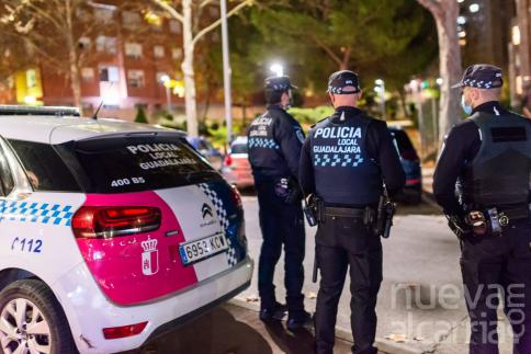 Tres detenidos por el intento de robo de un coche en Guadalajara