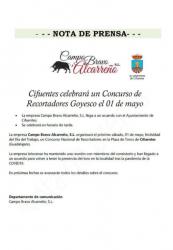 Cifuentes celebrará un Concurso de Recortadores Goyesco el 1 de mayo