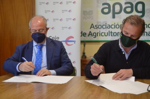 APAG e  Ibercaja renuevan su colaboración para la PAC 2021