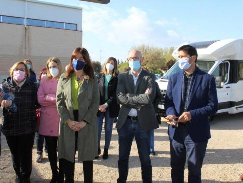 El proceso de vacunación en Castilla-La Mancha está por encima de la media nacional