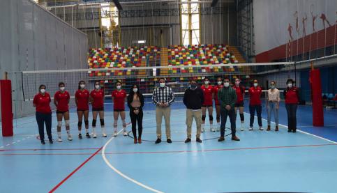 Comienza la concentración de la Selección Española Absoluta Femenina de Voleibol