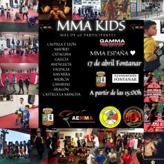 El sábado, fiesta del MMA en Fontanar