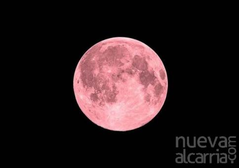 La superluna rosa se podrá ver la noche del 26 al 27 de abril