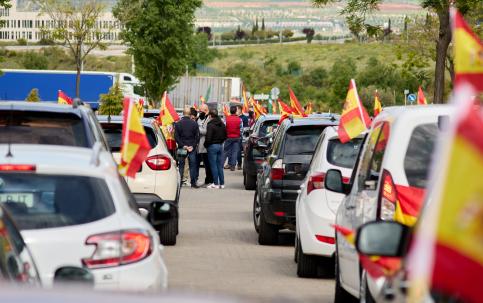 VOX y el sindicato Solidaridad celebraron su Caravana del Día de los Trabajadores