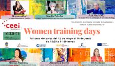 Vuelven los Virtual Women Training Days del CEEI Guadalajara poniendo en valor el emprendimiento femenino de la provincia