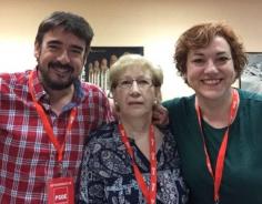 El PSOE alaba los 34 años de servicio de Lucía