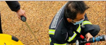 Cinco afectados por inhalación de humo en un incendio en un edificio en Armallones