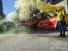 Trabajadores de Geacam amenazan con llevar su huelga a la campaña de extinción si Gobierno no cambia de