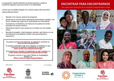 """Exposición de Cáritas Diocesana Sigüenza-Guadalajara """"Encontrar para encontrarnos"""""""