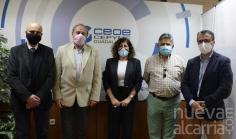 CEOE y el Colegio Oficial de Ingenieros Técnicos de Telecomunicaciones de Castilla-La Mancha mantienen su primer encuentro