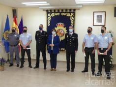La Policía Nacional  entrega de distinciones a ocho vigilantes de seguridad privada