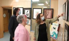 Exposición de fin de curso de la Escuela de Arte de Cabanillas