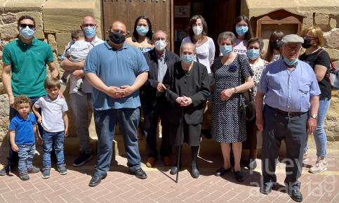 Máxima Llorente Ortega nueva centenaria de Molina de Aragón