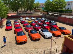 Éxito de la excursión por la provincia organizada por el club Mazda MX-5