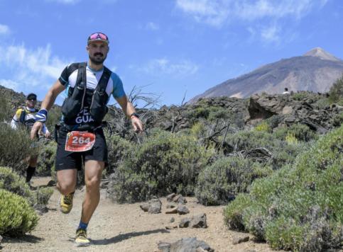 """El ultra-fondista pastranero Javier Izquierdo culmina la """"Tenerife BlueTrail"""""""