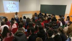 Diputación ayuda a llevar a todos los institutos de la provincia cursos de prevención de accidentes de tráfico