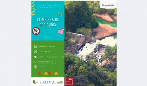 La Asociación Micorriza organiza 1m2 contra la basuraleza en el Salto de Poveda