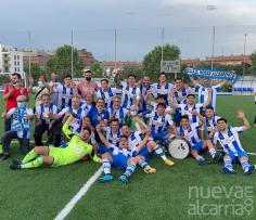 Despedida del fútbol de Mario Escamilla, capitán del Hogar Alcarreño del histórico ascenso