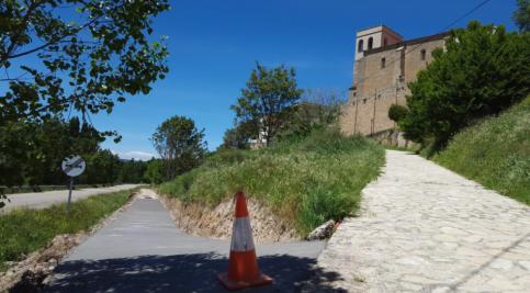 Nuevo carril-bici en Pareja