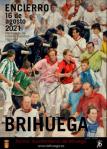 Ganador del VIII concurso del cartel anunciador del Encierro de Brihuega 2021