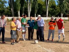 Adiós entrañable al campo de fútbol `El Parque´ de Jadraque