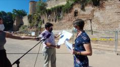 AIKE advierte incumplimientos en las rampas que se han empezado a construir en el alcázar
