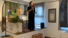 Inaugurada en Sigüenza una galería de arte de la mecenas Concha Márquez
