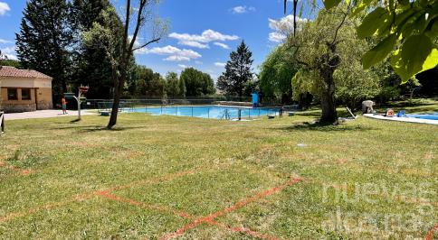 Apertura de la piscina municipal de Corduente