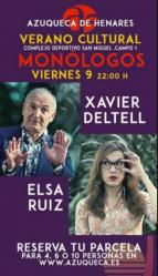 Un tributo a Queen y los monólogos de Elsa Ruiz y Xavier Deltell llegan este fin de semana a Azuqueca de Henares
