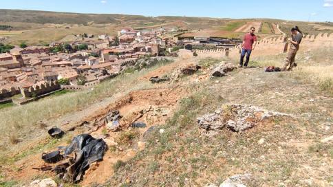 Regresan las excavaciones al Castillo de Molina