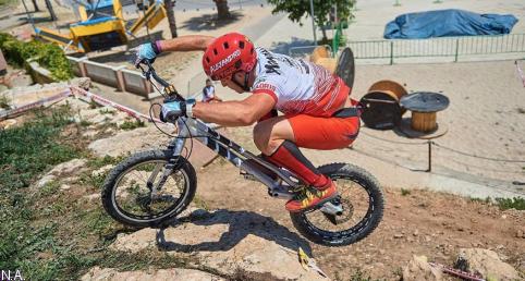 El espectáculo del trial bici llegará el próximo 31 de julio a Azañón